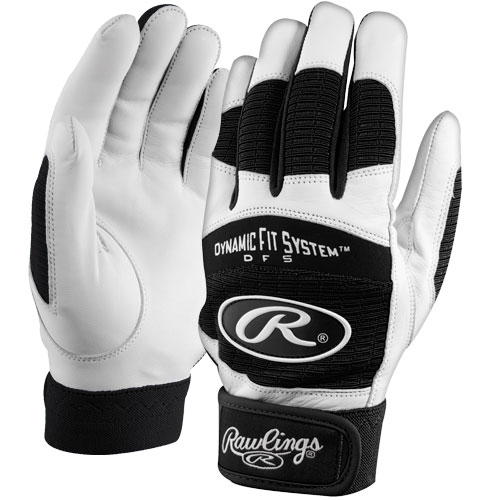 RAWLINGS BGP355A Adult Dynamic Fit 355 Series Batting Gloves